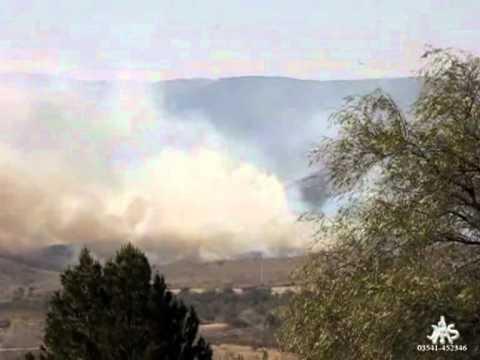 Incendios en Zona Punilla