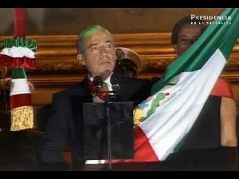 Ceremonia del CCI Aniversario del Grito de Independencia de México