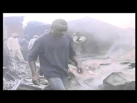 12 de Septiembre de 2011 / Explosion de Oleoducto en Nairobi / Primeras Imagenes