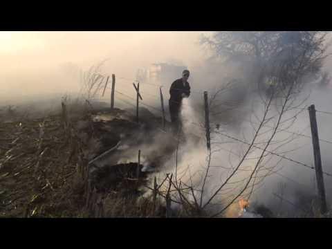 10 de Septiembre de 2011 / Incendio de Campos en Villa Maria / Córdoba en Argentina