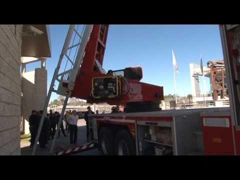 CORDOBA - ESCALERA TECIN IVECO MAGIRUS DLK55CS / POLICIA DE LA PROVINCIA DE CÓRDOBA EN ARGENTINA / Video Destacado de La Hermandad de Bomberos