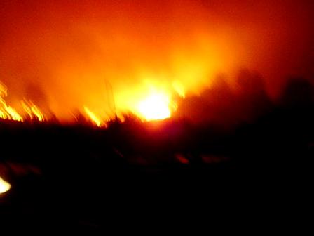 Villa Giardino / Incendios Forestales en Córdoba / Argentina