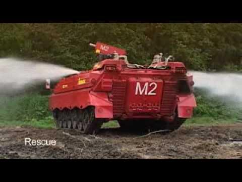 Tanques Panzer para combate de Incendios Forestales