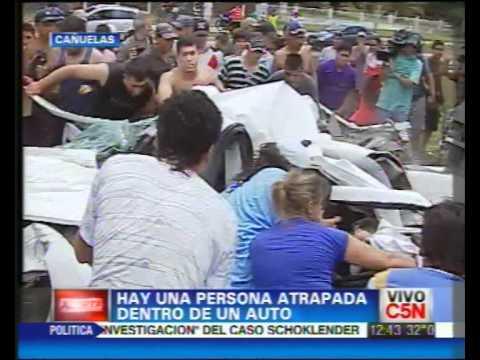 Accidente Vehicular con persona atrapada / Colisión Vehicular en Ruta 3, Cañuelas / buenos Aires en Argentina