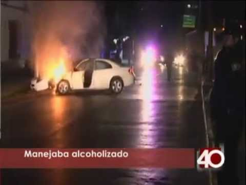 15 de Diciembre de 2011 / Incendio de Vehiculo / Distrito Federal, México
