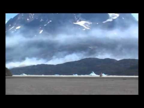 Impactante incendio en Torres del Paine/CHILE (29/12/11)