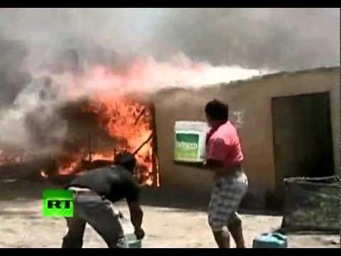 14.01.2012 / En Perú fuerte incendio dejó a más de 780 personas en la calle