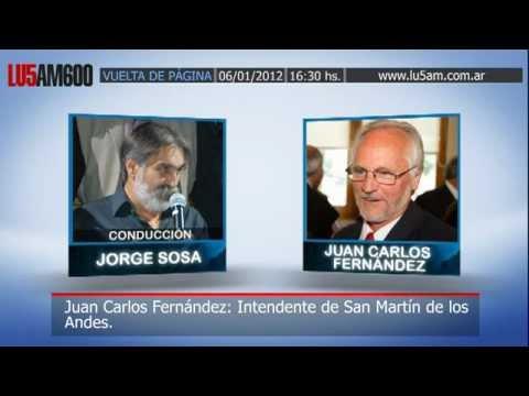 6-1-12 Alerta en San Martín de los Andes por incendios intencionales