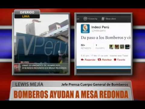 17.02.2012 / Incendio en Mesa Redonda llegó a código 3 /PERÚ.