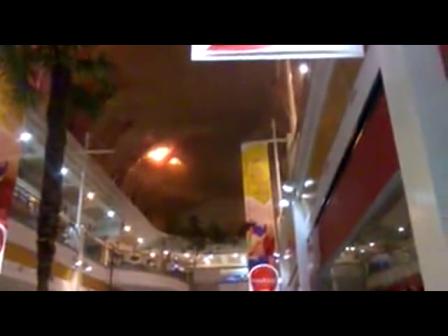 24 febrero 2012 / Incendio destruye parte de Mall Plaza del Trébol de Talcahuano / Incendio visto desde el interior del Mall / Chile / Vídeo Destacado de La Hermandad de Bomberos