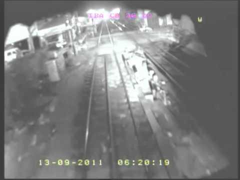 Impactante video desde uno de los trenes de la tragedia de Flores, Ciudad Autonoma de Buenos Aires en Argentina / Video Destacado de La Hermandad de Bomberos