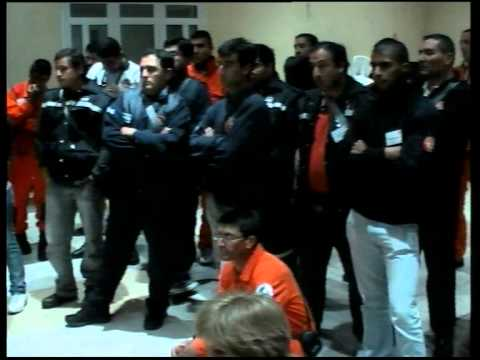 Capacitación: Victor Arias de la Fuentes Bombero de Santiago de Chile PRACTICA