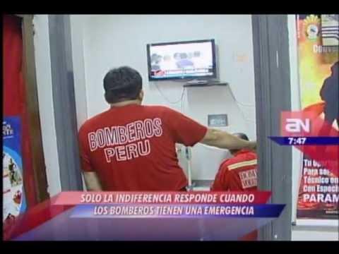 25.02.2012/ Bomberos reciben más de 500 llamadas falsas al día / PERÚ