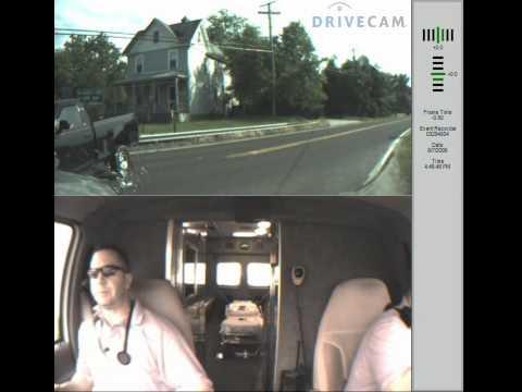 Choque captado por cámara de Ambulancia / Estados Unidos