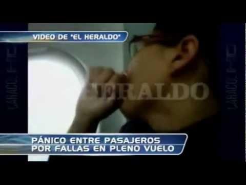 06 de Marzo de 2012Emergencia en Avion Bogota-Barranquilla / Colombia