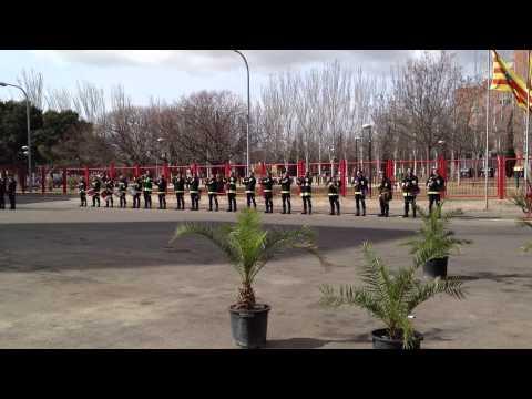 12 de Marzo de 2012 / Banda de Gaitas, Bomberos de Zaragoza / España