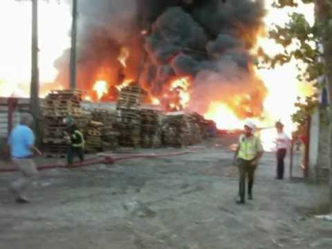 27 de Marzo de 2012 / Incendio en Fabrica Wenco / Chile