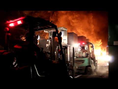 27 de Marzo 2012 / Incendio Fabrica Wenco / Chile