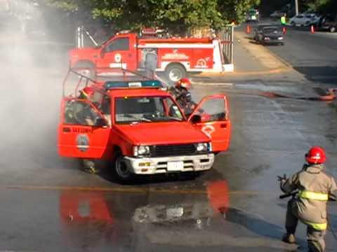 25 de Marzo de 2012 / Ejercicio, Bomberos de Chiriqui, Panama