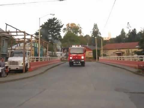 "Salida / Primera compañia ""Oscar Alt Winter"" / Rio Negro, Osorno en Chile"