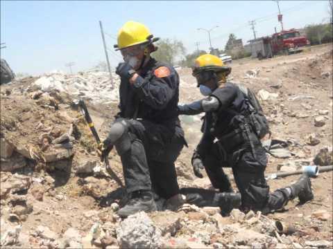 18 de Mayo del 2012 / Curso Rescate en Estructuras Colapsadas / Bomberos de Cajeme / Obregón, Sonora, México