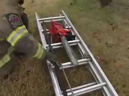 Capacitación / Trabajo rápido para ventilación vertical con escaleras de mano y extensibles