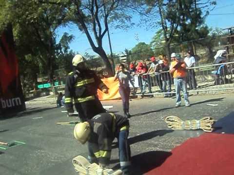 Desafio de Bomberos S.A.R. - Bolivia 2012