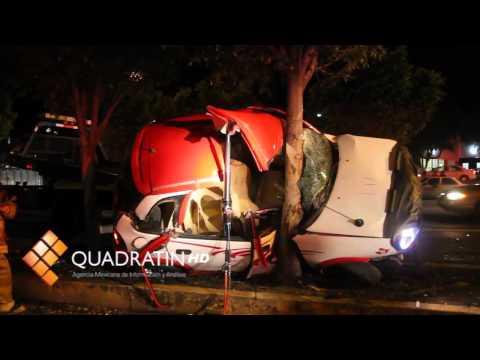 Rescate Vehicular / Herido en choque de un taxi / Morelia, Mich. México
