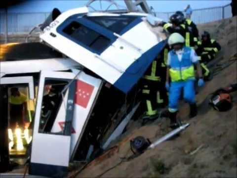 Bomberos Fuenlabrada Madrid Accidente metro Loranca