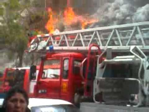 CHILE incendio persa de viña