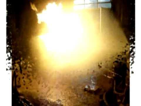 Fabricación del Simulador de incendios de GLP / Cuerpo de Bomberos de Alberti, Buenos Aires, Argent…