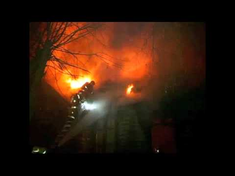 CHILE RIO BUENO  Incendio Anibal Pinto y Ejercito Libertador