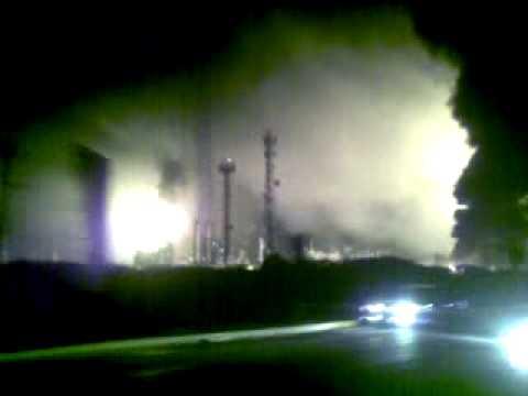 Explosion en Refineria Amuay Punto Fijo - Estado Falcón