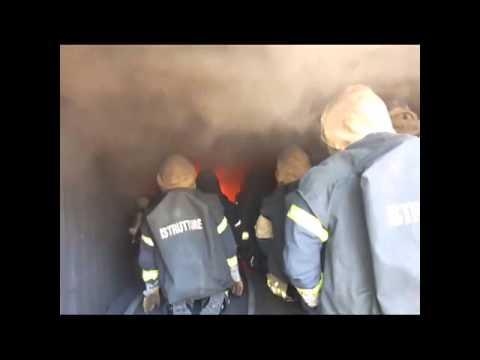 Escuela de Incendio Estructural / Entrenamiento CFBT, Escuela Provincial Anti-incendio de Trento / Trento, Italia