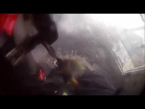 INCENDIO DE VIVIENDA / CÁMARA EN CASCO / BOMBEROS MIJAS, ESPAÑA / Video Destacado de La Hermandad de Bomberos