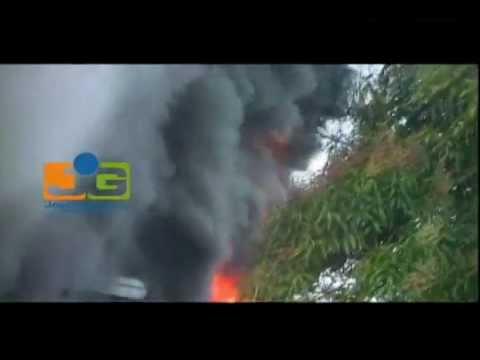 Se incendia electrónica en Jacagua
