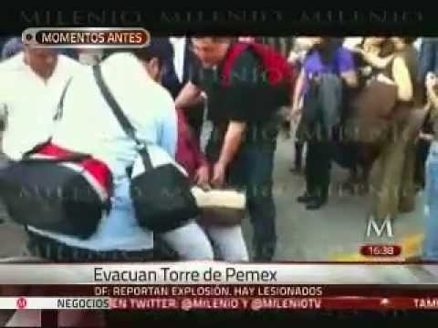 EXPLOSIÓN EN LA TORRE DE PEMEX / MÉXICO DF, MÉXICO