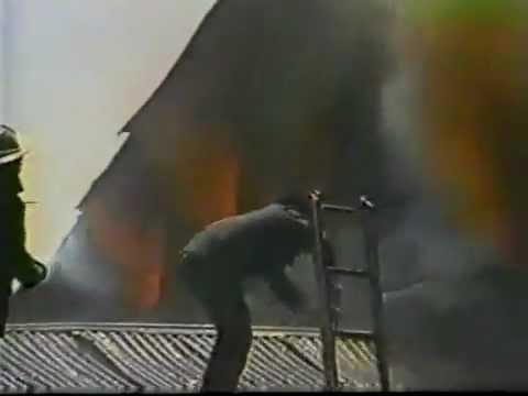 Incendio en el Instituto John Kennedy en los años 80