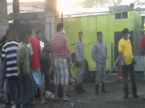Tamboril: Incendio causa pérdidas millonarias en fábrica de químicos
