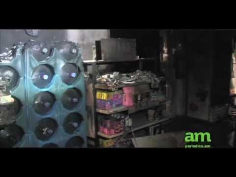 Incendio en Tienda ISSSTE / Entrevista Gerente