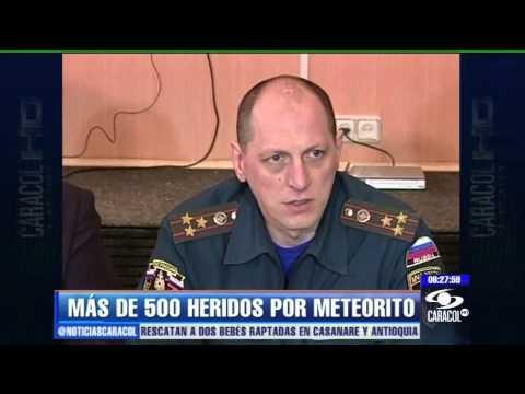 CAE UN METEORITO EN RUSIA Y CAUSA MIL HERIDOS / RUSIA / Vídeo Destacado de La Hermandad de Bomberos
