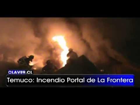 Incendio de Vivienda en Portal de la Frontera / Ventilación Vertical / Temuco, Chile / Video Destacado de La Hermandad de Bomberos