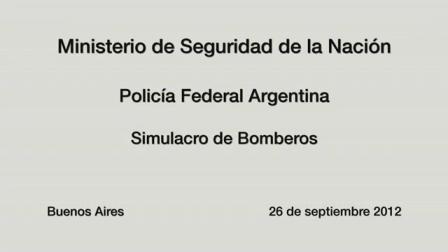 Simulacro de Bomberos de la Policía Federal / Argentina / Vídeo Destacado de La Hermandad de Bomberos