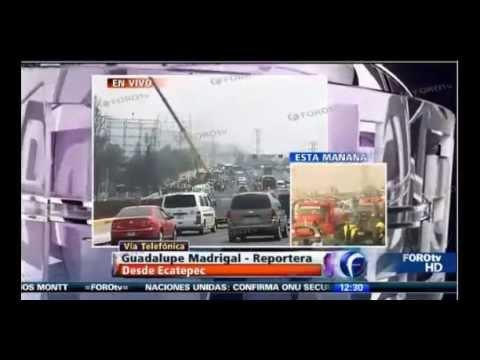 EXPLOTA PIPA DE GAS EN ECATEPEC AUTOPISTA MÉXICO-PACHUCA 20 MUERTOS - 7 MAYO 2013 / Vídeo Destacado de la Hermandad de Bomberos