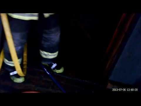ABORDO: BOMBEROS VOLUNTARIOS DE CAMPANA - 6/7/2013 INCENDIO DE VIVIENDA EN B° SANTA BRIGIDA / Vídeo Destacado de La Hermandad de Bomberos