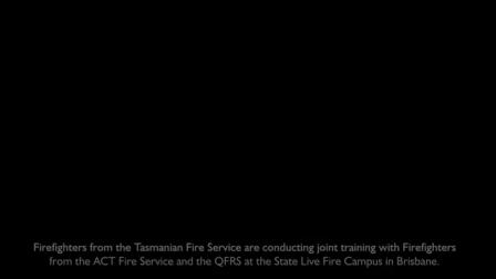 """ESCUELA AUSTRALIANA DE CFBT: """"DERRIBO RÁPIDO"""" UTILIZANDO CAFs / ENTRENAMIENTO DEL DEPARTAMENTO DE BOMBEROS DE TASMANIA / BRISBANE, QUEENSLANE EN AUSTRALIA"""