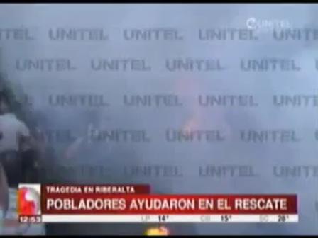 OCHO MUERTOS Y DIEZ HERIDOS EN ACCIDENTE AÉREO EN RIBERALTA, BOLIVIA / Vídeo Destacado de La Hermandad de Bomberos