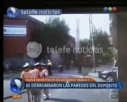 TRÁGICO INCENDIO Y DERRUMBE EN BARRACAS, BUENOS AIRES EN ARGENTINA / Vídeo Destacado de La Hermandad de Bomberos