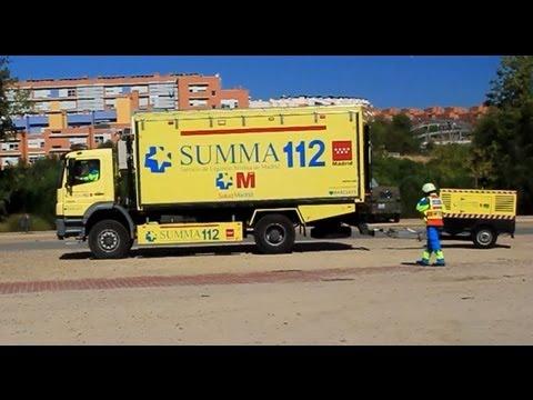 CAMIÓN DE CATÁSTROFES SUMMA 112, ESPAÑA