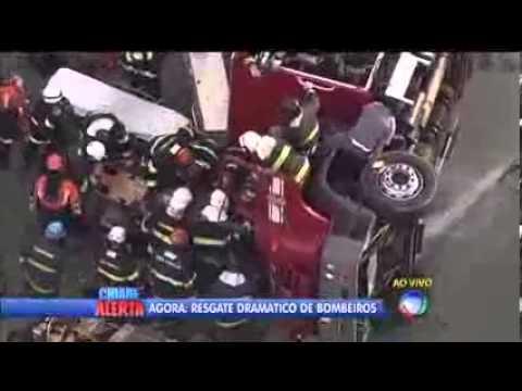 DRAMATICO RESCATE DE BOMBERO EN SAN PABLO, BRASIL / Vídeo Destacado de La Hermandad de Bomberos